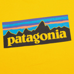 Patagonia P-6 Logo Classic Men's T-shirt Tupelo Yellow photo- 2