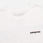 Мужская футболка Patagonia P-6 Logo Classic White фото- 1