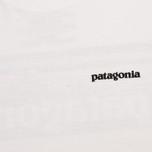 Мужская футболка Patagonia P-6 Logo Classic White фото- 3