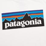 Мужская футболка Patagonia P-6 Logo Classic White фото- 2