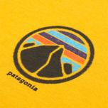 Мужская футболка Patagonia Rivet Logo Golden Amber фото- 3