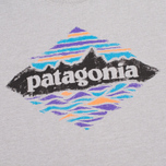 Patagonia Wood Stamped P-6 Men's T-shirt Feather Grey photo- 2