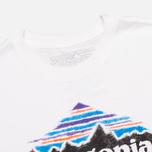 Мужская футболка Patagonia Wood Stamped P-6 White фото- 1