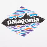 Мужская футболка Patagonia Wood Stamped P-6 White фото- 2