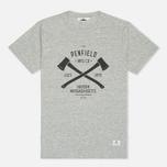 Мужская футболка Penfield Axes Grey Melange фото- 0