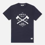 Мужская футболка Penfield Axes Navy фото- 0