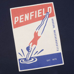 Мужская футболка Penfield Diver Navy фото- 2