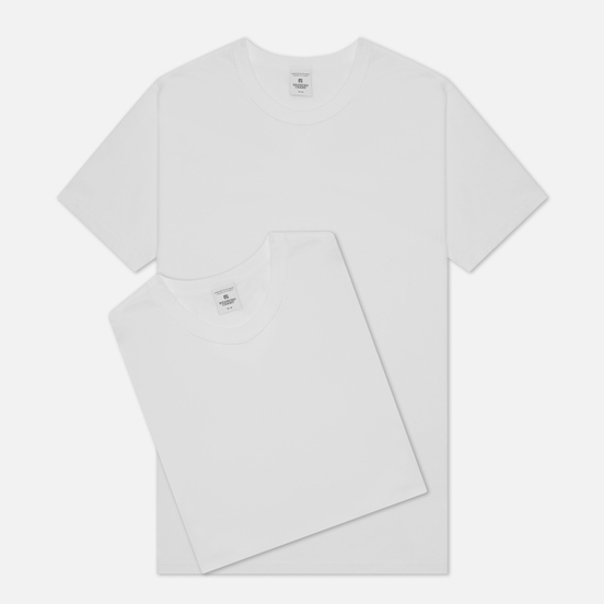 Комплект мужских футболок Reigning Champ Knit Jersey Set 2 Pack White