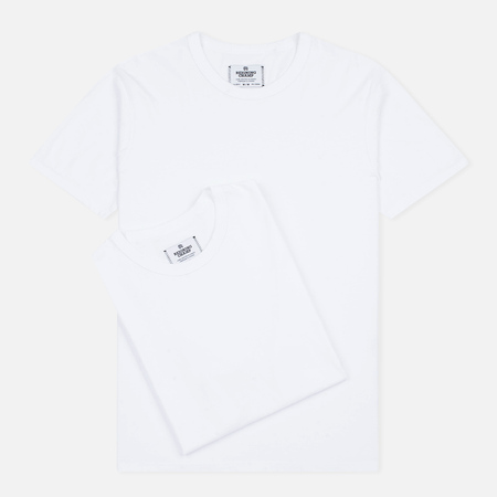 Reigning Champ Knit Jersey Set 2 Pack Men's T-shirts Pack White