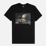 Мужская футболка Stussy Skull Painting Black фото- 0