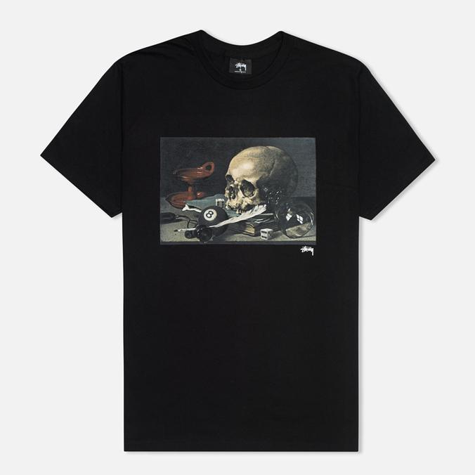 Мужская футболка Stussy Skull Painting Black