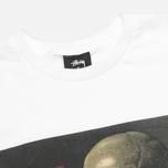 Stussy Skull Painting Men's T-shirt White photo- 1