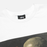 Мужская футболка Stussy Skull Painting White фото- 1