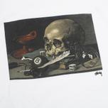 Мужская футболка Stussy Skull Painting White фото- 2