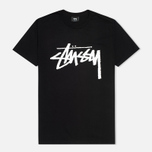 Мужская футболка Stussy Stock Black фото- 0