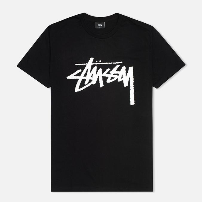 Мужская футболка Stussy Stock Black
