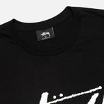 Мужская футболка Stussy Stock Black фото- 1