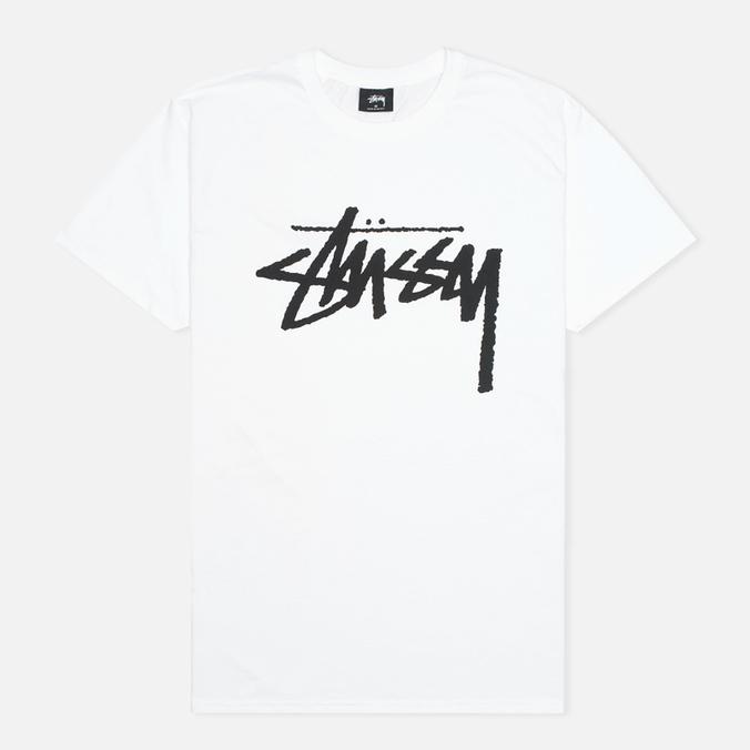 Мужская футболка Stussy Stock White