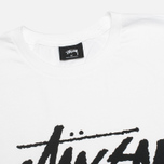 Мужская футболка Stussy Stock White фото- 1