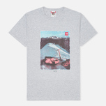 The North Face Adventure Page Men's T-shirt Heather Grey photo- 0