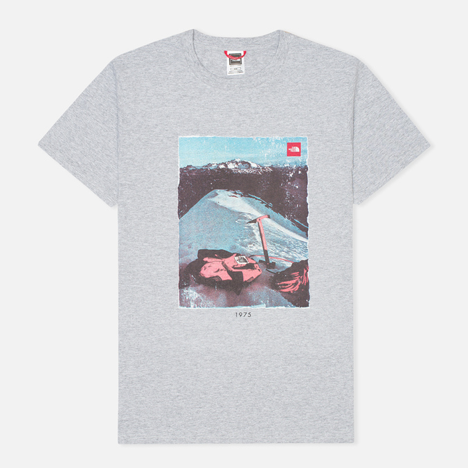 Мужская футболка The North Face Adventure Page Heather Grey