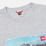 Мужская футболка The North Face Adventure Page Heather Grey фото- 1