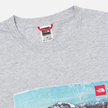 The North Face Adventure Page Men's T-shirt Heather Grey photo- 1