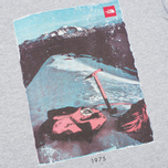 The North Face Adventure Page Men's T-shirt Heather Grey photo- 2