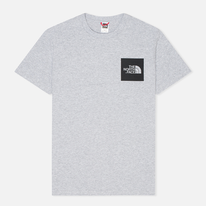 Мужская футболка The North Face Fine Heather Grey