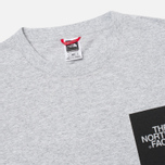 Мужская футболка The North Face Fine Heather Grey фото- 1