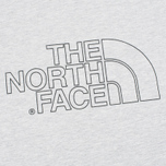 The North Face Novelty Logo Men's T-shirt Heather Grey photo- 2