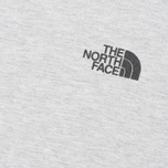 The North Face Novelty Logo Men's T-shirt Heather Grey photo- 3