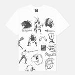 Мужская футболка Undefeated Emblem White фото- 0
