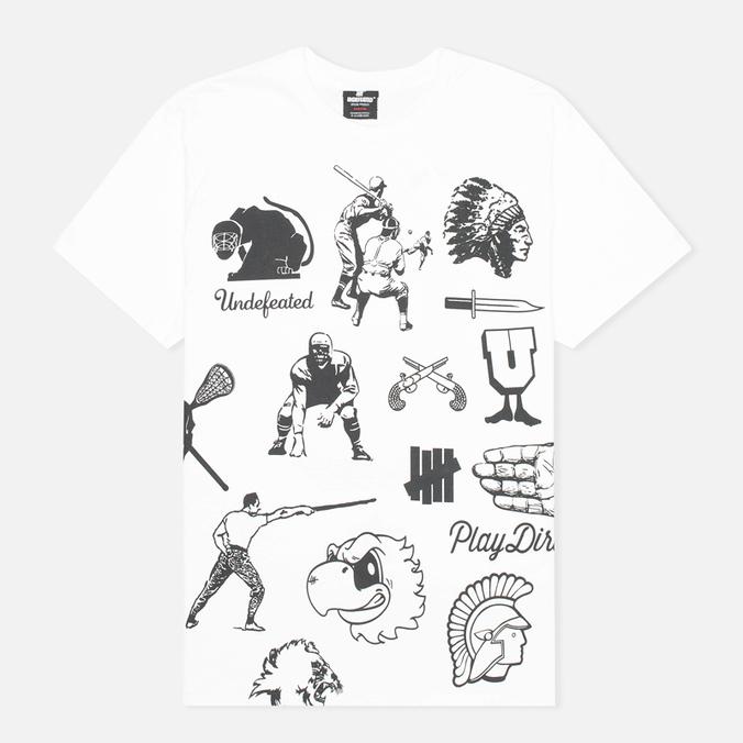 Мужская футболка Undefeated Emblem White