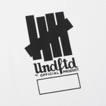 Мужская футболка Undefeated Official Product White фото- 2