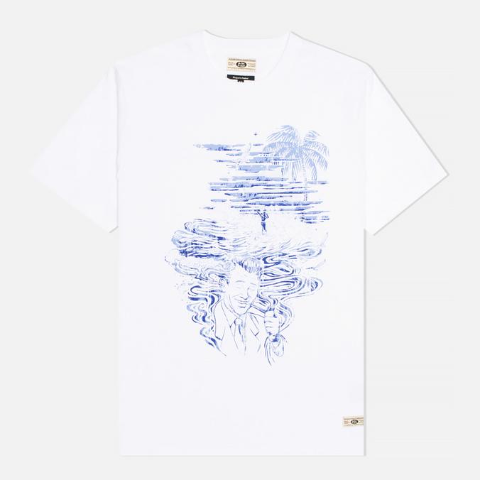 Мужская футболка Uniformes Generale Ben Lamb Piped Dreams White