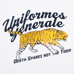 Мужская футболка Uniformes Generale Death Spares Flock Tiger White фото- 2