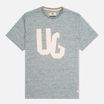 Мужская футболка Uniformes Generale Discharge Pocket Indigo Melange фото- 0