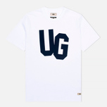 Мужская футболка Uniformes Generale Monogram Flock White фото- 0