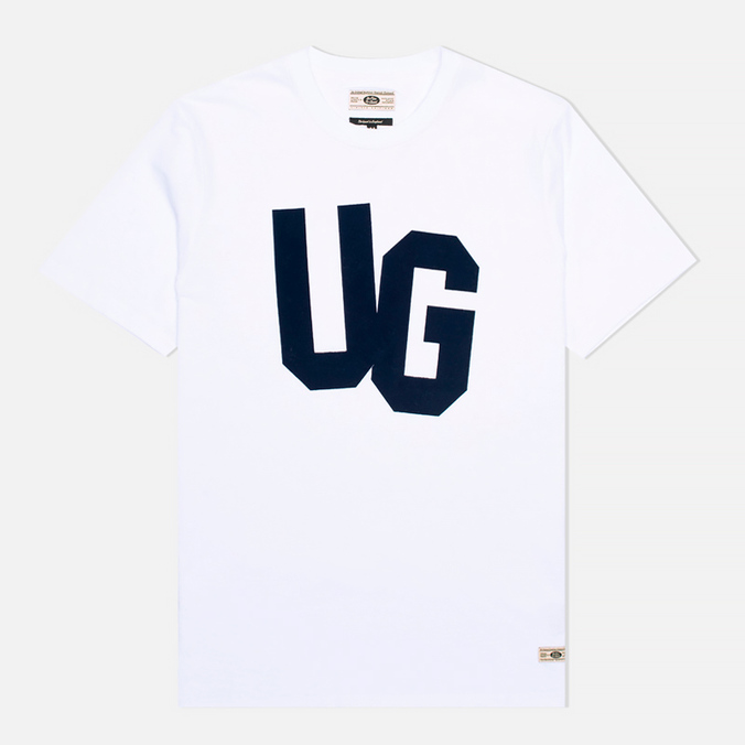Мужская футболка Uniformes Generale Monogram Flock White