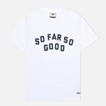 Мужская футболка Uniformes Generale So Far So Go White фото- 0