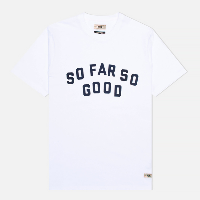 Мужская футболка Uniformes Generale So Far So Go White