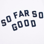 Мужская футболка Uniformes Generale So Far So Go White фото- 2