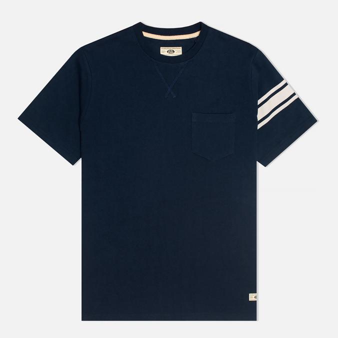 Мужская футболка Uniformes Generale Vintage Surf Style Sleeve Stripe Navy