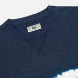 Мужская футболка Uniformes Generale Vintage Tie Dye Multi Stripe Navy фото- 1