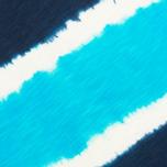 Мужская футболка Uniformes Generale Vintage Tie Dye Multi Stripe Navy фото- 2