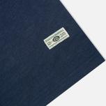 Мужская футболка Uniformes Generale Vintage Tie Dye Multi Stripe Navy фото- 3