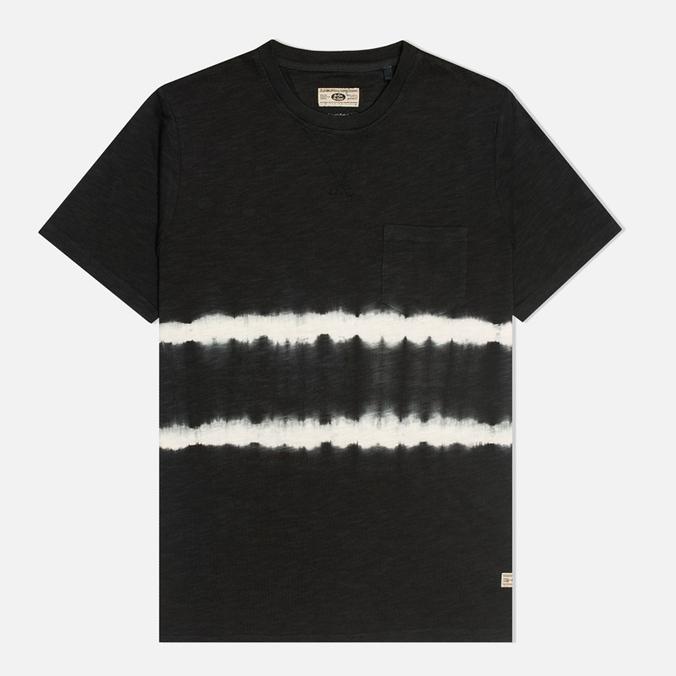 Мужская футболка Uniformes Generale Vintage Tie Dye Stripe Black