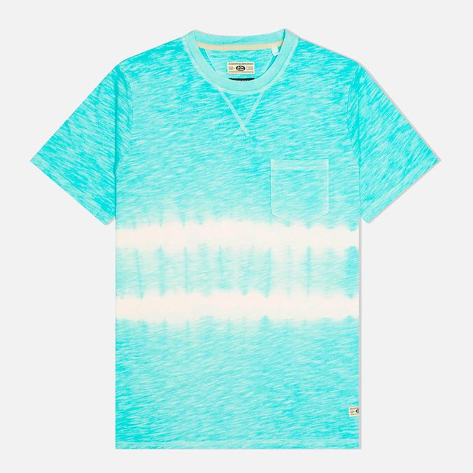 Мужская футболка Uniformes Generale Vintage Tie Dye Stripe Mint