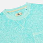 Мужская футболка Uniformes Generale Vintage Tie Dye Stripe Mint фото- 1